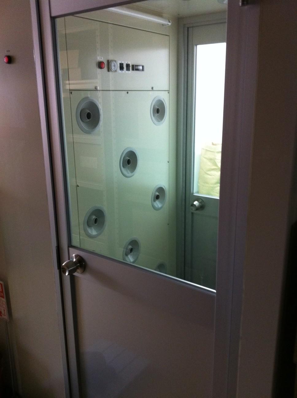 エアシャワー設備設置