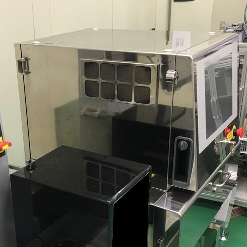 コーヒーラインに最新型エックス線異物検査機&印字カメラ機導入