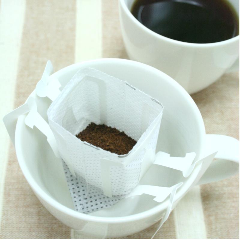個包装ドリップコーヒーバッグ加工