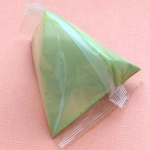 オリジナルアルミ三角パック食品素材加工